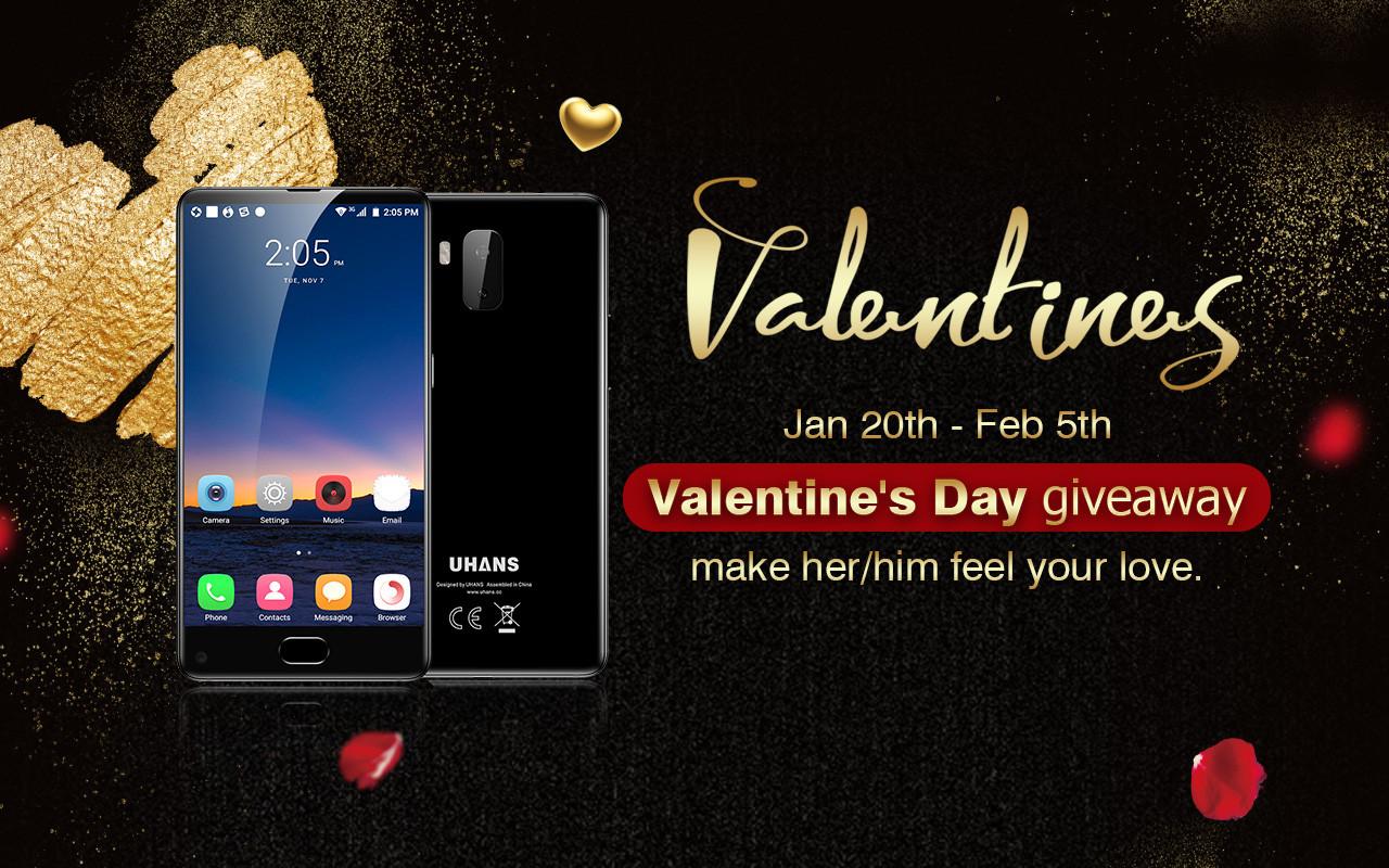 Выиграй два UHANS MX ко дню святого Валентина!
