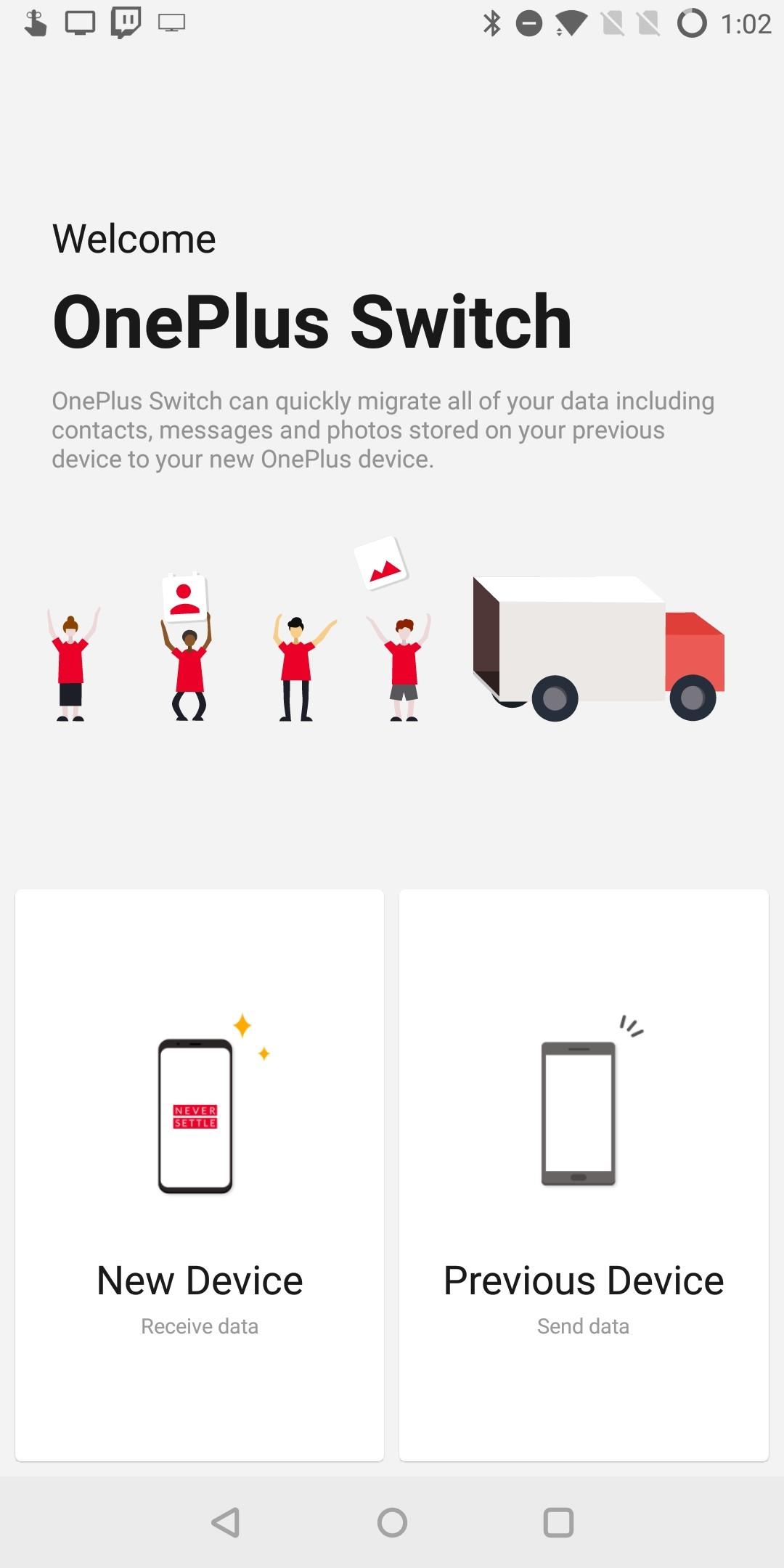С OnePlus Switch переход на смартфон от OnePlus стал комфортным и 5 января представят OnePlus …