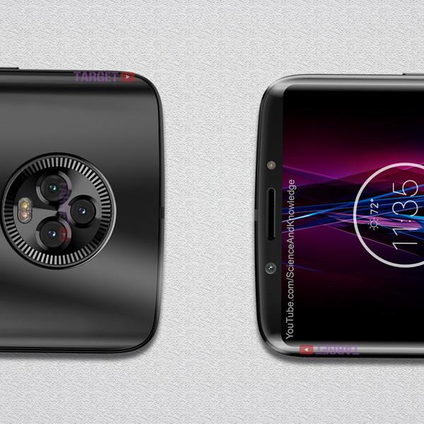 Это «безрамочный» Moto X5 с мощным посылом по камерам
