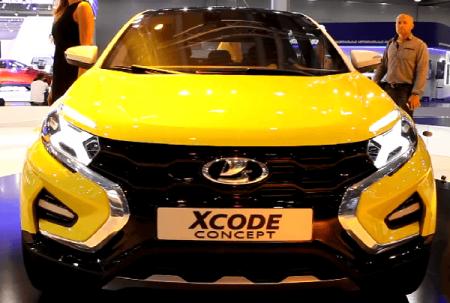 Новый кроссовер LADA XCode: «АвтоВАЗ» запатентовал новую модель