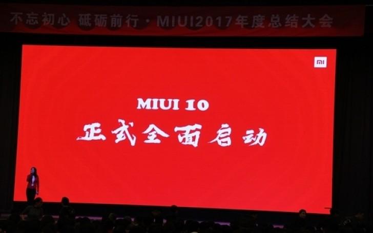 MIUI 10 разрабатывают с акцентом на искусственный интеллект