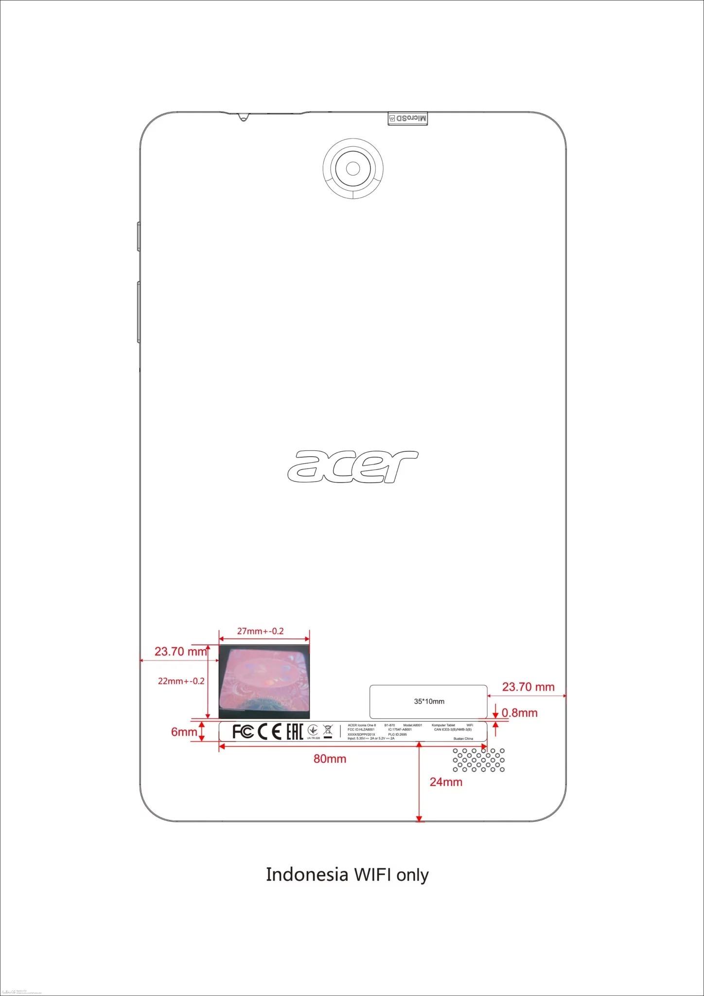 Acer Iconia One 8 (2018) - для всех, кто скучал по новым планшетам