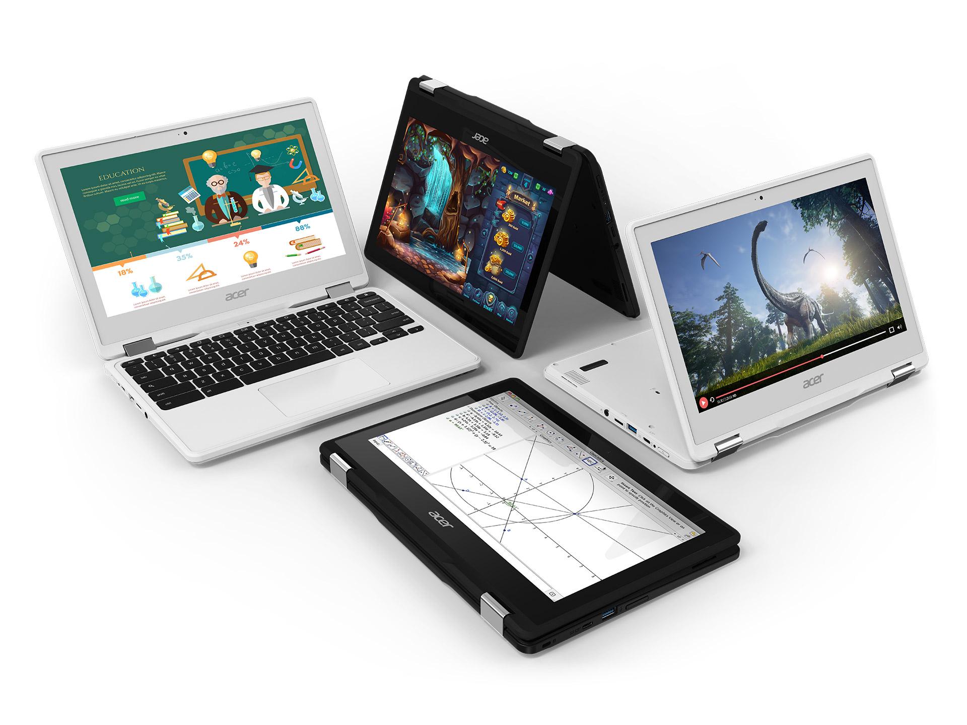 Acer Spin 11 - новый бюджетный хромбук-трансформер
