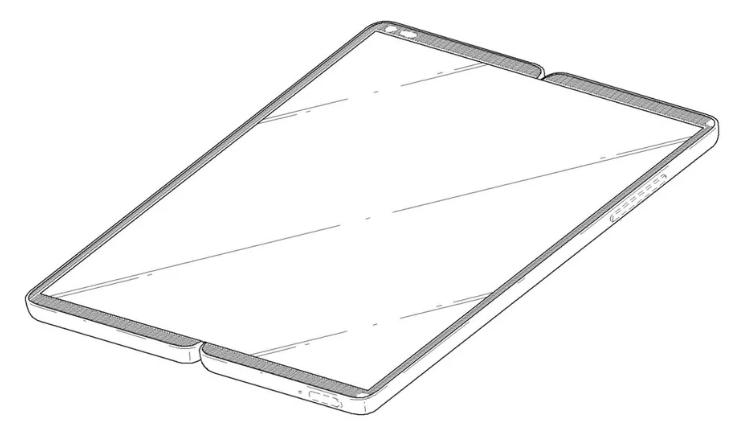 LG патентует достойную альтернативу Samsung Galaxy X