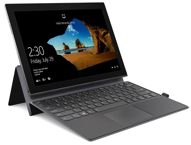 Lenovo анонсировала планшет MiiX 630 с платформой Snapdragon 835