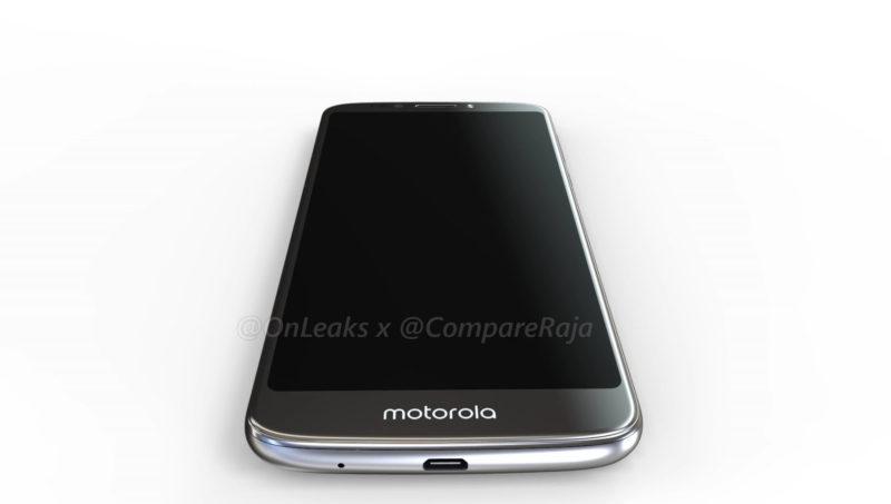 Moto G6 Play показали со всех сторон