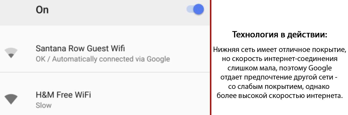 Android научили подсказывать самую быструю WiFi сеть