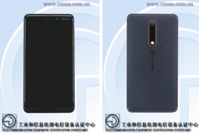 Подробности о Nokia 6 (2018) засветились в TENAA
