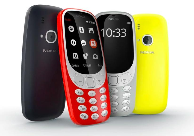 Характеристики Nokia 3310 4G из базы данных TENAA