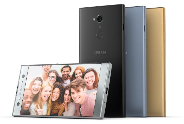 CES 2018: Sony анонсировала Xperia L2,  Xperia XA2 и Xperia XA2 Ultra