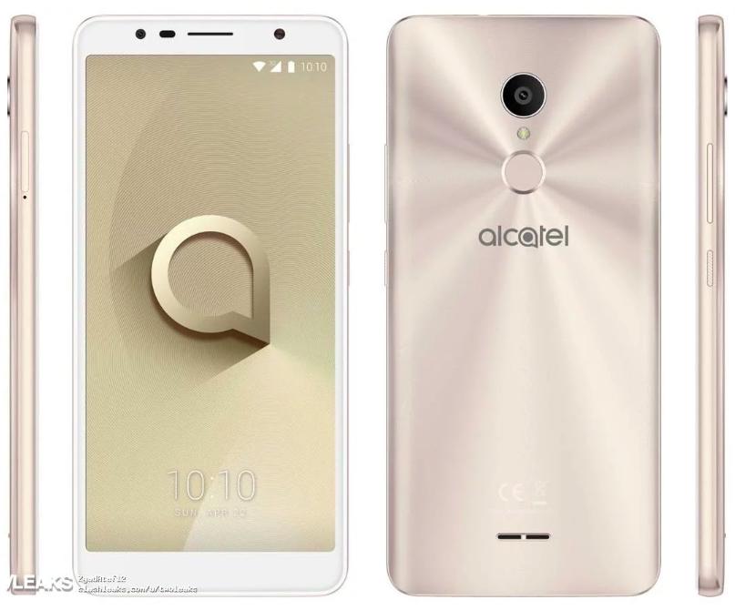 «Безрамочник» Alcatel 3c: характеристики, рендеры и цена