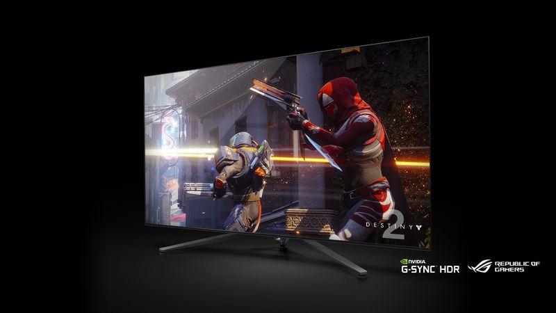 NVIDIA показала на CES 2018, что такое настоящий геймерский монитор