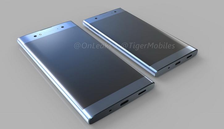 Sony Xperia L2, Xperia XA2 и Xperia XA2 Ultra: характеристики и 3D-рендеры