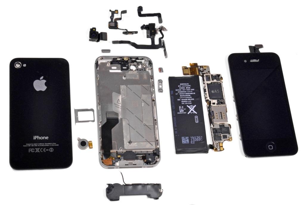 Комплектующие на айфоны
