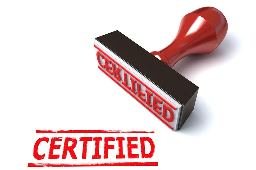 Сертификация любого уровня