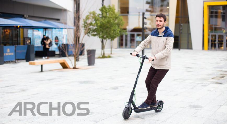 Компания Archos представила первый в мире самокат на ОС Android