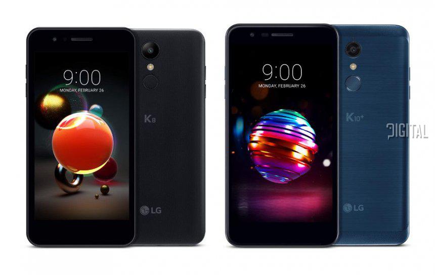 Анонс бюджетников LG K8 (2018) и LG K10 (2018)