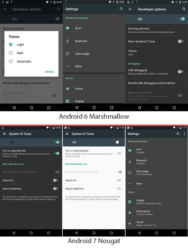 В Android наконец-то появится встроенный тёмный режим