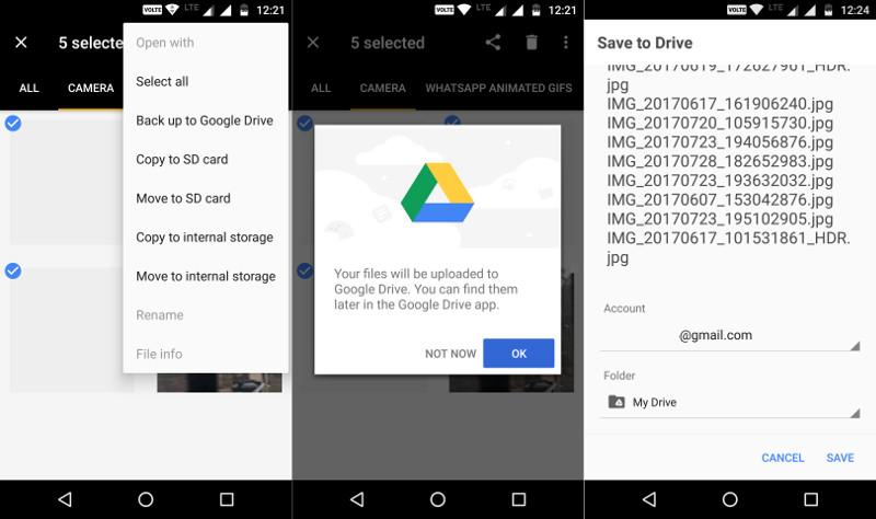 Приложение Google Files Go получило существенное обновление