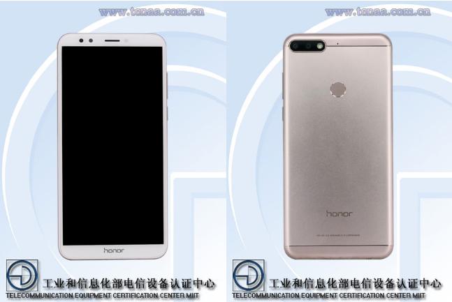 Honor 7C был замечен на сайте TENAA