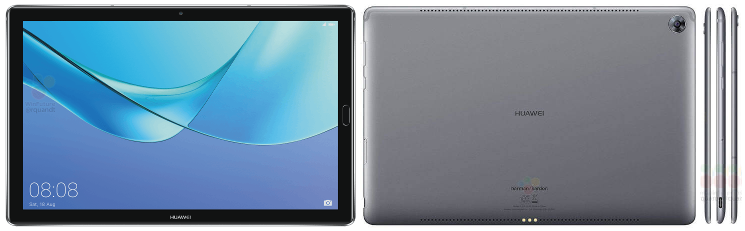 Huawei представит как минимум 2 новых планшета MediaPad M5 на выставке MWC 2018
