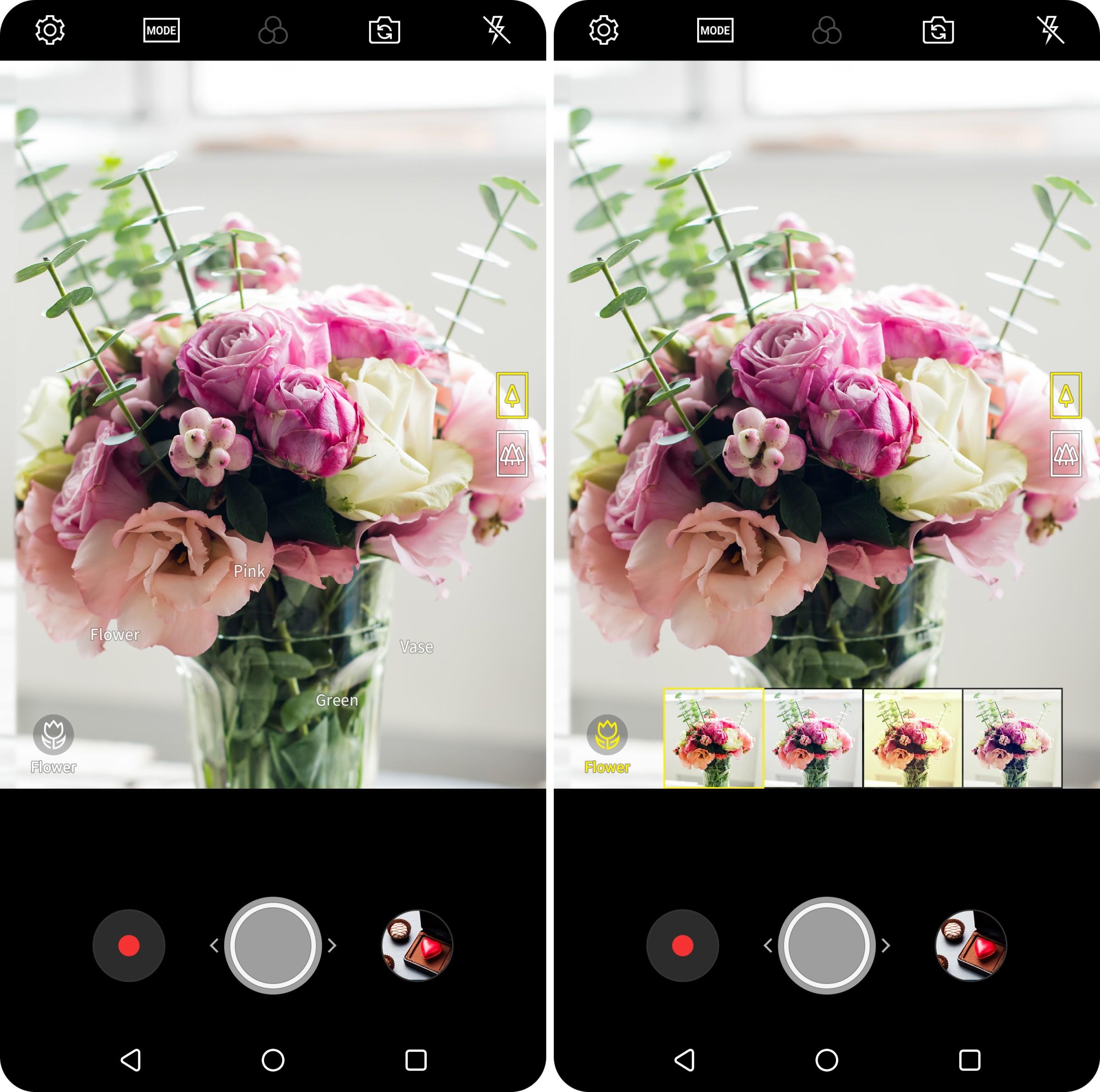 LG V30 (2018) получил «умную» камеру