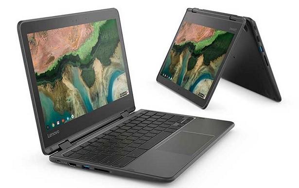 Lenovo объявила о старте продаж Chromebook 100e, 300e и 500e
