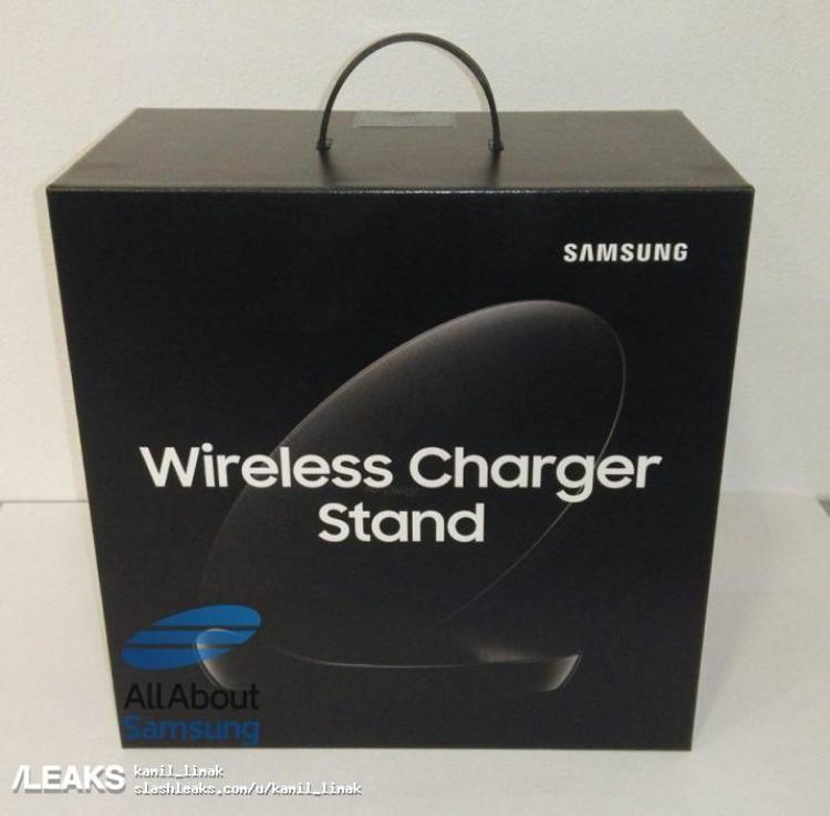 Живые фото новой беспроводной зарядки Samsung EP-N5100 для смартфона Galaxy S9