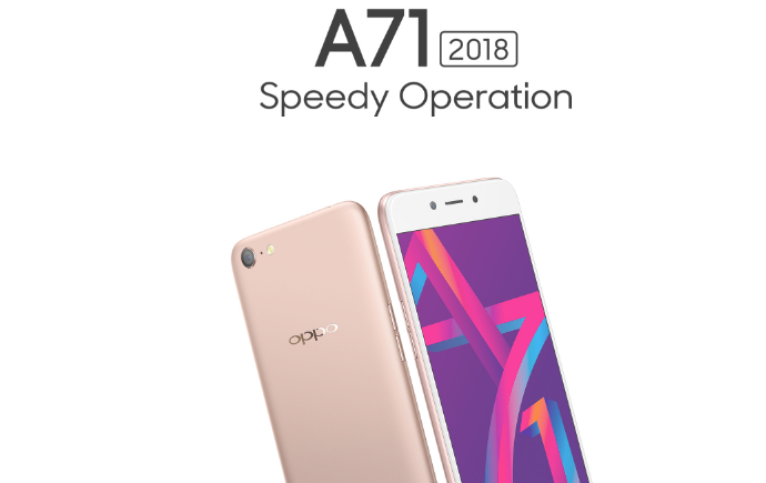 Анонс Oppo A71 (2018) на базе Snapdragon 450 с ценником 0