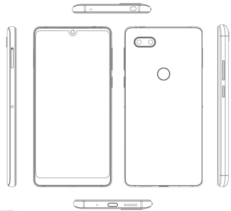 Будущий «полноэкранный» смартфон Nubia показан со всех сторон