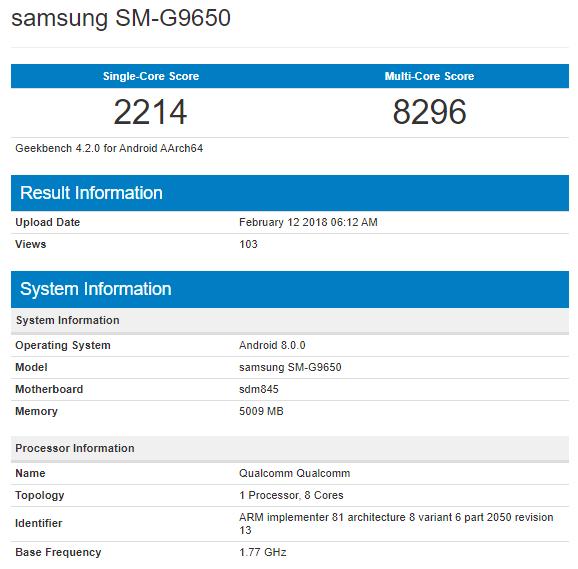 Samsung Galaxy S9: кто производительнее Snapdragon 845 или Exynos 9810?