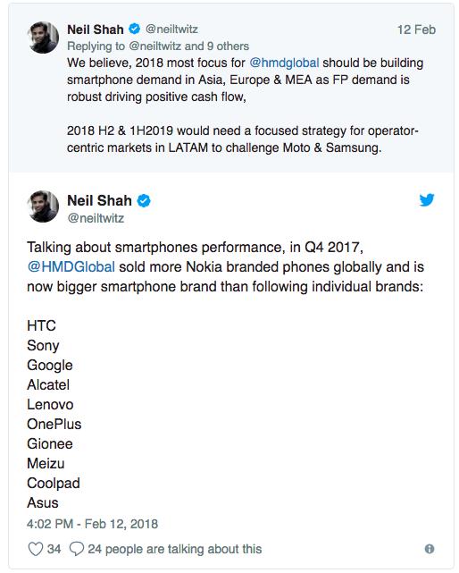 Сколько продано Google Pixel и по какому показателю HMD Global превзошла OnePlus, HTC и другие …