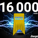 Energizer Power Max P16K Pro — крутой долгожитель с АКБ на 16000 мАч