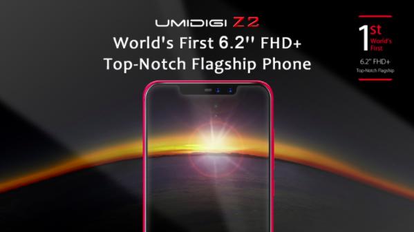UMIDIGI Z2 показали на видео