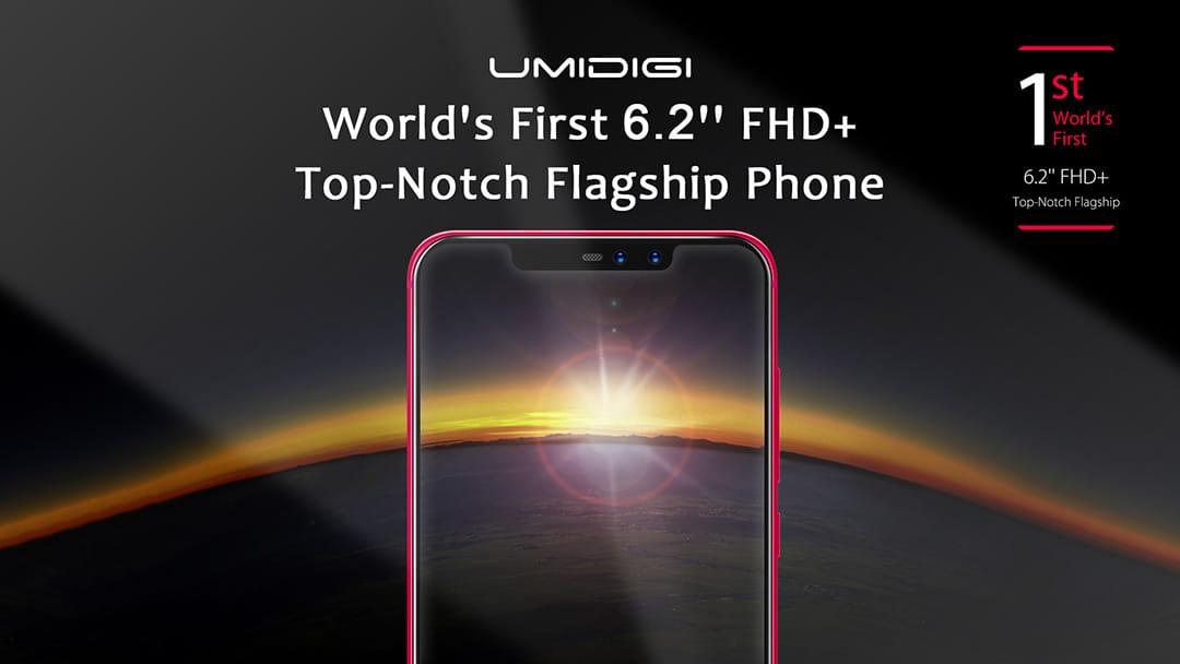 UMIDIGI Z2 получит характерную черту iPhone X и аккумулятор на 7000 мАч
