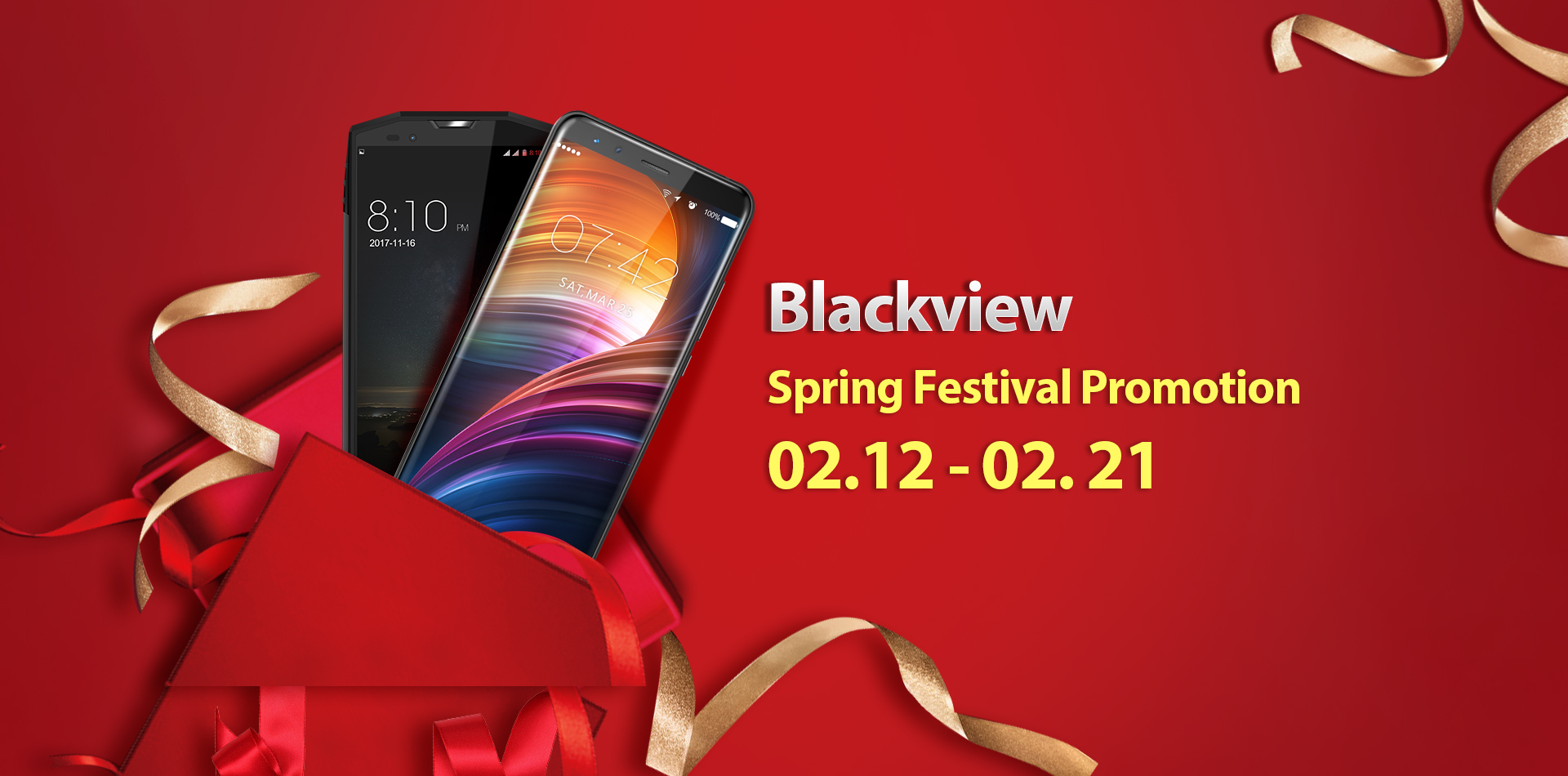 Blackview отмечает Китайский Новый год скидками на AliExpress