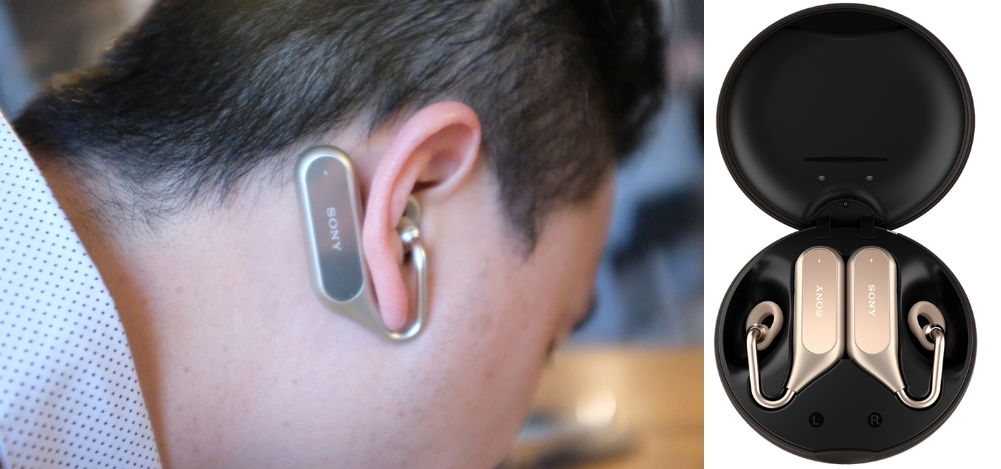 Беспроводные наушники Sony Xperia Ear Duo за $280 на выставке MWC 2018