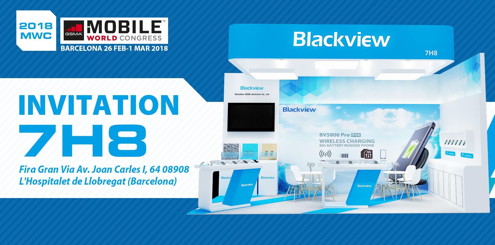 Защищенный Blackview BV5800 Pro и другие смартфоны компании покажут на MWC 2018