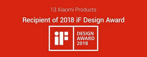 Сразу 13 продуктов Xiaomi были удостоены престижной премии за дизайн