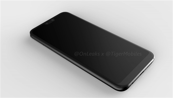 Huawei P20 Lite показали на 3D-рендере