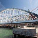 Легковые автомобили и автобусы пустят по Крымскому мосту через Керченский пролив мае 2018 года