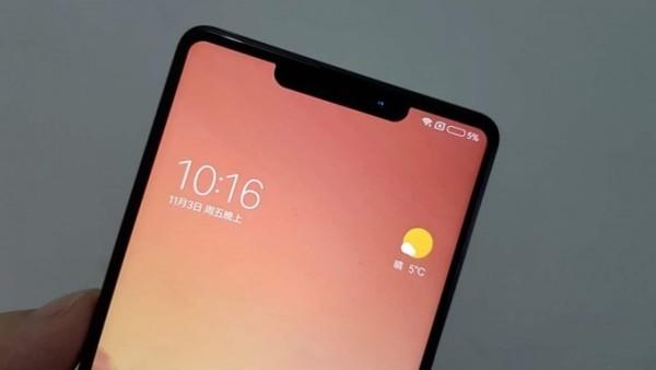 Передняя панель Xiaomi Mi7 на фото. Как же так? Тренд монобровь силен?