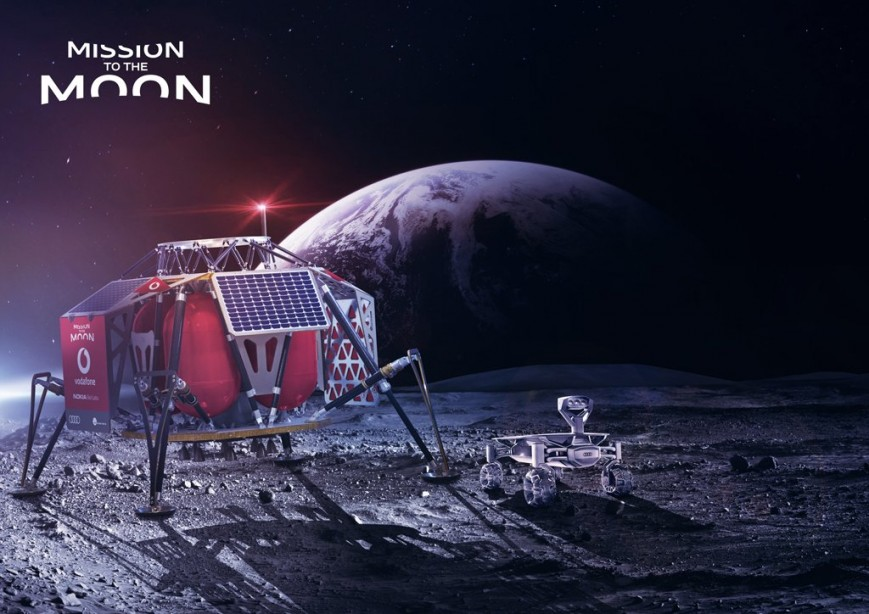Nokia совместно с Vodafone разворачивают связь 4G LTE на Луне