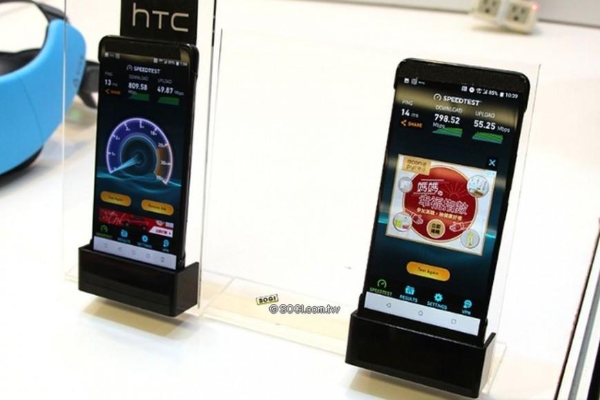 HTC U12 будет стилягой в стеклянном корпусе с белым матовым напылением