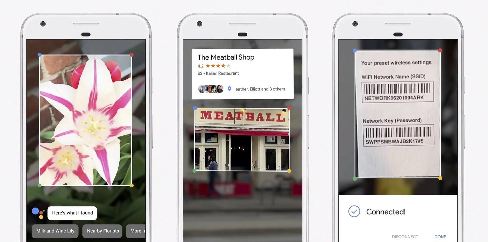 Google Lens постепенно разворачивается на всех смартфонах