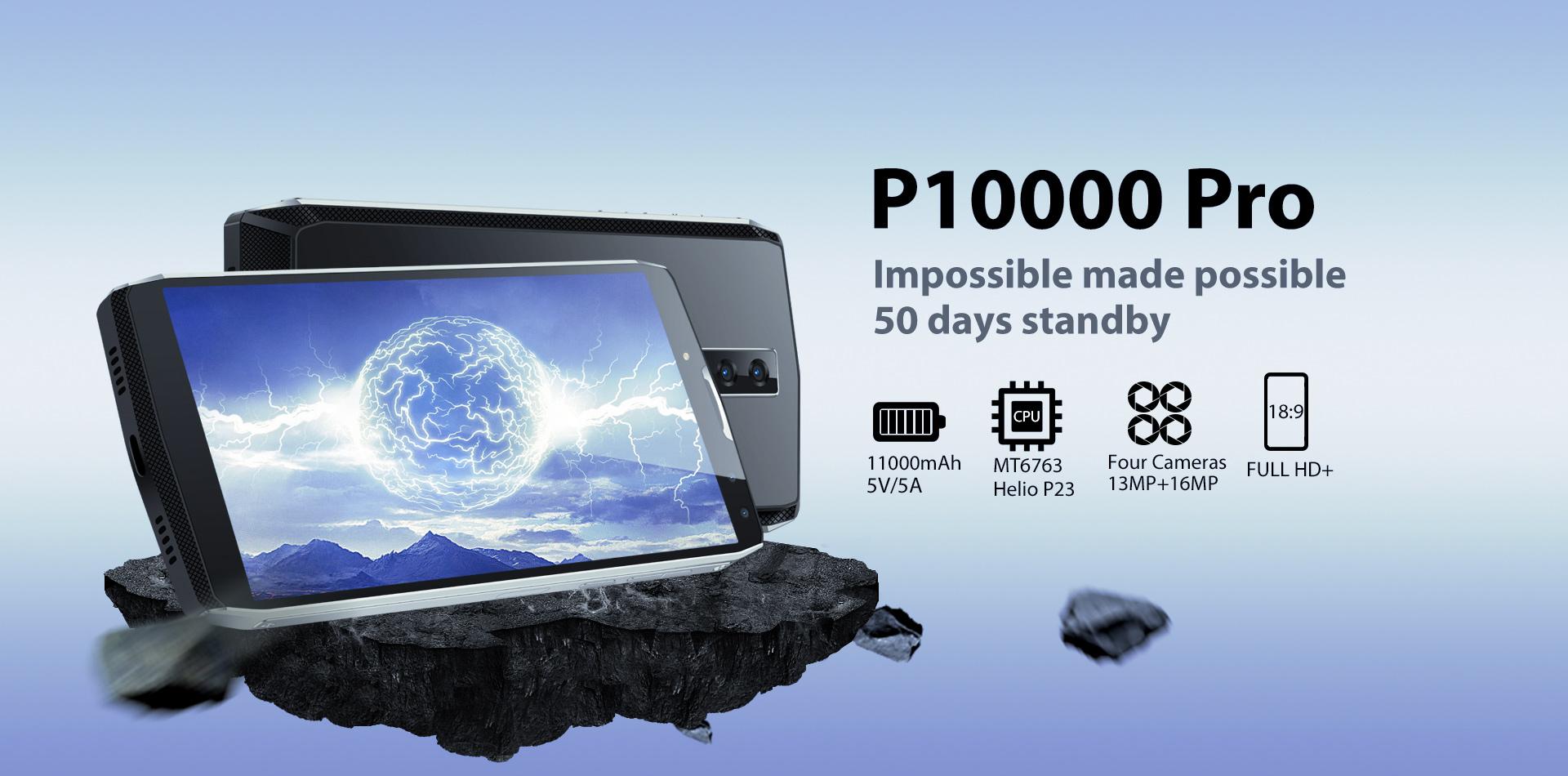 Blackview P10000 Pro — запредельный запас мощности
