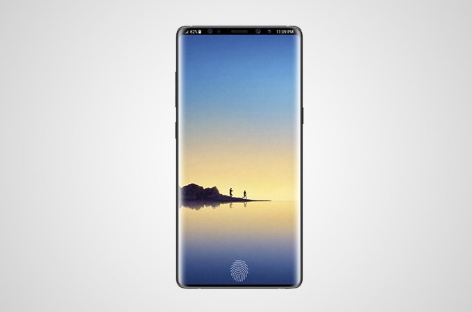 Samsung Galaxy S10 (Galaxy X) обзаведется дисплейным датчиком отпечатков пальцев
