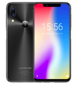 UMIDIGI One — реплика iPhone X с боковым сканером отпечатков пальцев