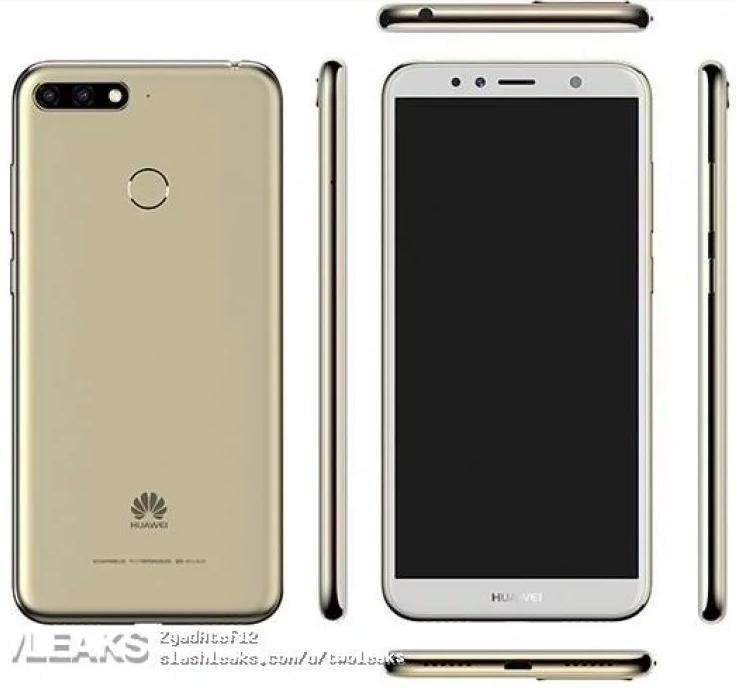 Huawei Enjoy 8E: очередной смартфон с дисплеем 18:9