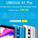 UMIDIGI A1 Pro — смартфон начального уровня с дисплеем 18:9 за $99,99